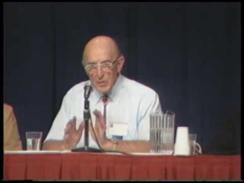 May, Rogers, Satir, and Szasz at The Evolution of Psychotherapy conference, 1985