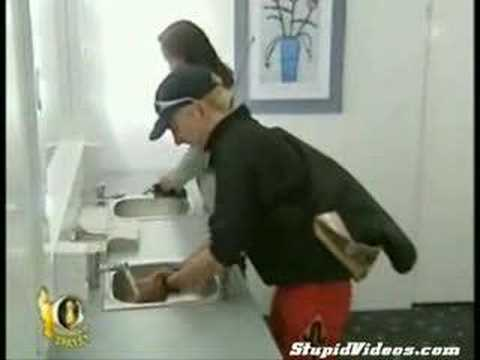 Absolutely Hilarious Bathroom Mirror Prank
