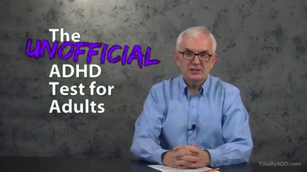 The Unofficial; ADHD Test for Adults