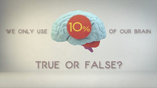 What percentage of your brain do you use?